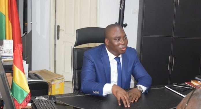 Djakaria Koulibaly ministre des hydrocarbures Guinée