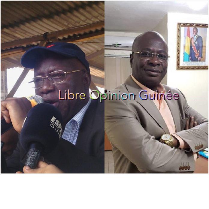 Kalémodou Yansané et Mamadouba Tos Camara mairie de matoto