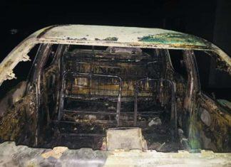 Guinée : Le véhicule de service d'un commissaire de la CENI calciné