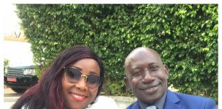 Alhousaini Makanera kaké et son épouse Néné Kaké