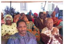 Mouctar Diallo, ministre de la jeunesse et de l'emploi des jeunes