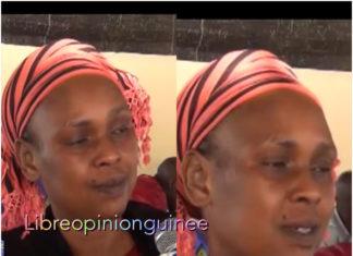 Fatou Badiar à son domicile après sa libération