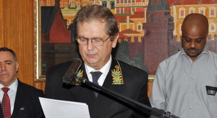 Alexandre Bregadze, ambassadeur de Russie en Guinée
