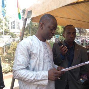 Sidiki Touré secrétaire général du ministère de la jeunesse et de l'emploi des jeunes