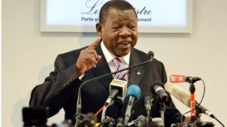 Le porte-parole du gouvernement congolais Albert Mende