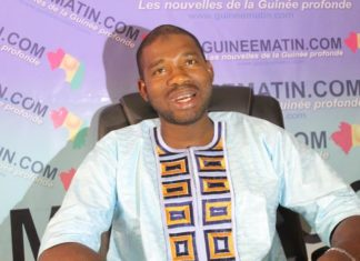 Macka Balde vice-président des Nfd directeur général adjoint de l'agence nationale de volontariat jeunesse