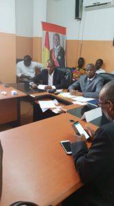 Macka Baldé, DGA de l'ANVJ à sa prise de fonction