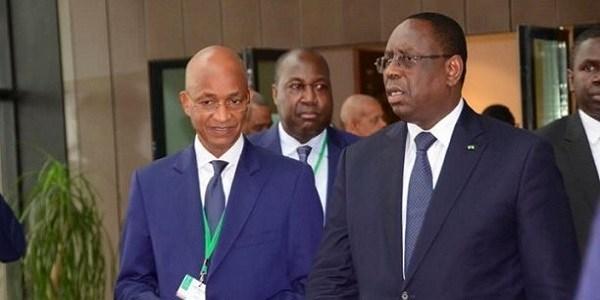 Cellou Dalein Diallo et Macky Sall