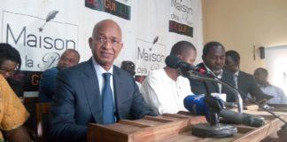 Cellou Dalein Diallo en conférence de Presse