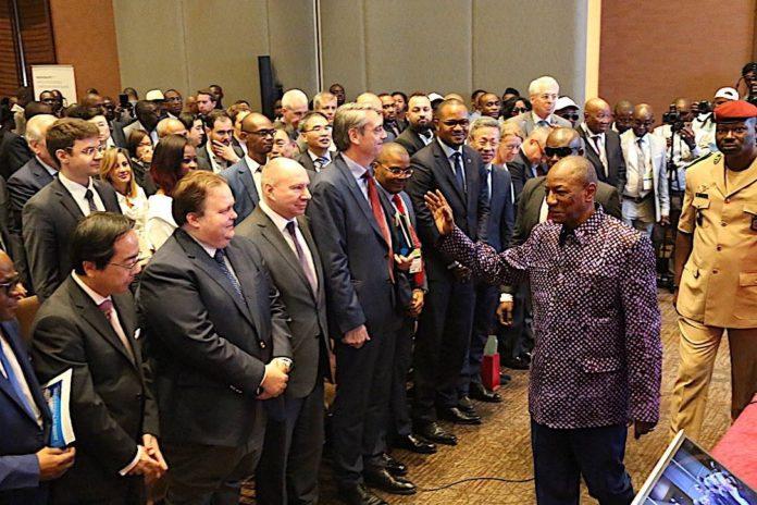 Le président Alpha Condé au symposium mines Guinée