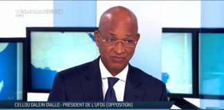Cellou Dalein Diallo président de l'UFDG sur TV5