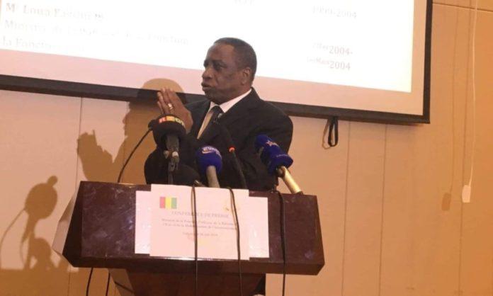 Bily Nankouma Doumbouya ministre de la fonction publique