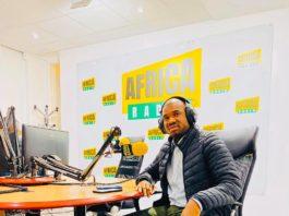 Macka Baldé vice-président des NFD et DGA de l'ANVJ sur Africa Radio janvier 2020 Paris