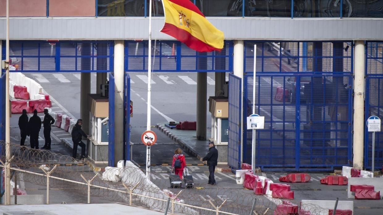 Frontière fermée entre le Maroc et Sebta et Melilla — Coronavirus
