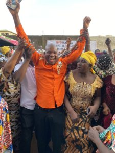 Macka Balde au meeting des NFD à Dubréka